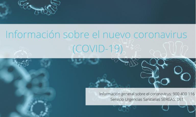 Información sobre el nuevo coronavirus (COVID-19)