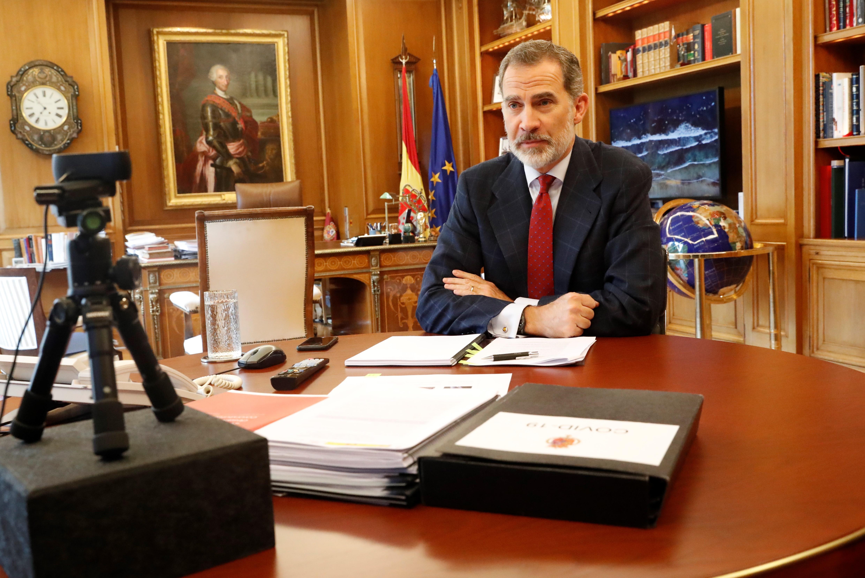 La sanidad privada española expone al Rey su  implicación en la crisis de la Covid-19