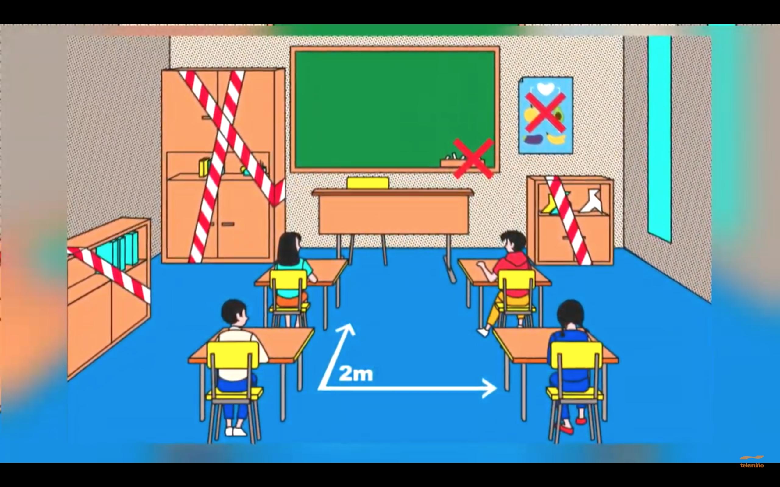 'Escola de familias': La Unidad de Pediatría del Hospital Cosaga explica cómo actuar en caso de positivo por Covid-19 en el colegio
